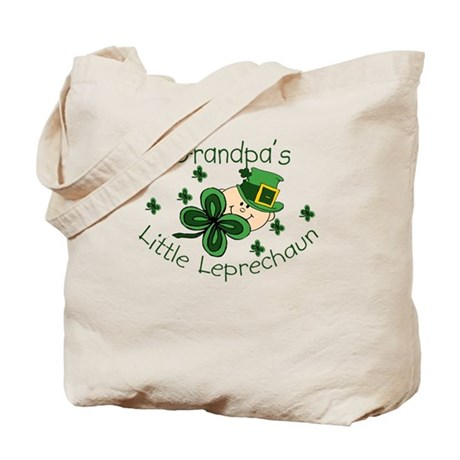Grandpa's Leprechaun Tote Bag