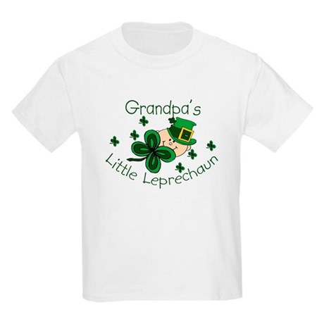 Grandpa's Leprechaun Kids Light T-Shirt