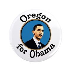 Oregon for Obama Big 2008 Button