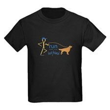 Run with dog T