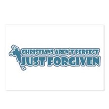 Christians aren't perfect Postcards (Package of 8)