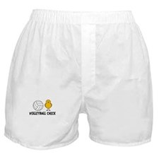 Volleyball Chick Boxer Shorts