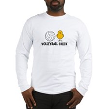 Volleyball Chick Long Sleeve T-Shirt