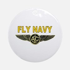 US Navy Aircrew Ornament (Round)