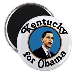 Kentucky for Obama Magnet