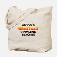 World's Hottest Swimm.. (B) Tote Bag