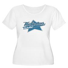 Baseball Kelpie Women's Plus Size TShirt
