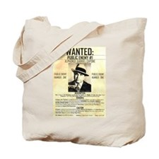 Wanted Al Capone Tote Bag