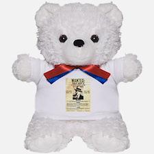 Wanted Al Capone Teddy Bear