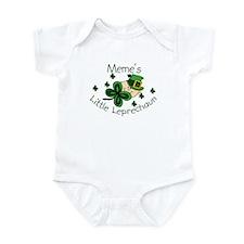 Meme's Leprechaun Infant Bodysuit