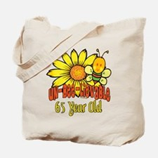 unbelievable 65th birthday Tote Bag
