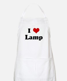 I Love Lamp BBQ Apron