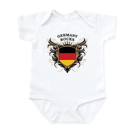 Germany Rocks Infant Bodysuit