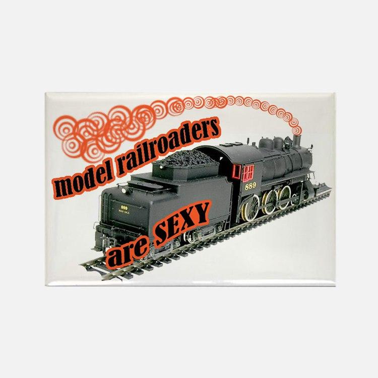 sexy locomotive Rectangle Magnet