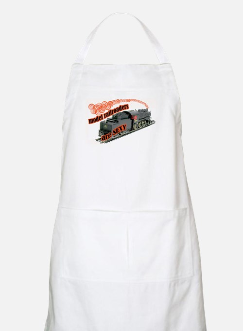 sexy locomotive BBQ Apron