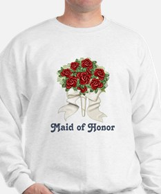 Penguin Wedding - Maid of Honor Sweatshirt