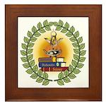 Masonic Teachers Framed Tile