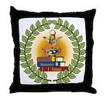 Masonic Teachers Throw Pillow