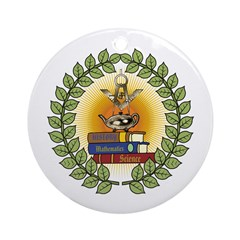 Masonic Teachers Ornament (Round)