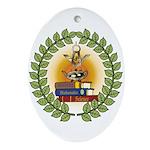 Masonic Teachers Oval Ornament