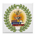 Masonic Teachers Tile Coaster
