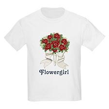 Penguin Wedding - Flowergirl T-Shirt