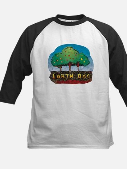 Earth Day Kids Baseball Jersey
