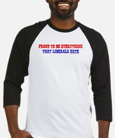 Liberals Hate Baseball Jersey
