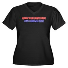 Liberals Hate Women's Plus Size V-Neck Dark T-Shir