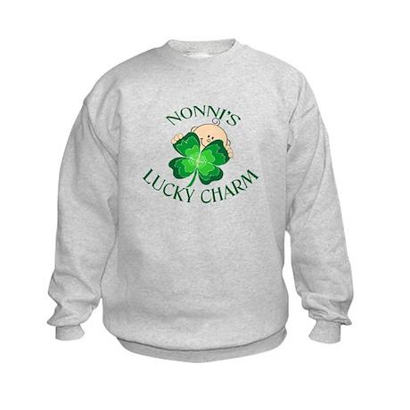 Nonni's Lucky Charm Kids Sweatshirt