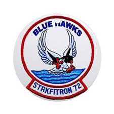 VFA 72 Blue Hawks Ornament (Round)