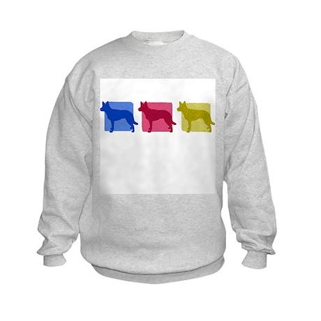 Color Row Kelpie Kids Sweatshirt