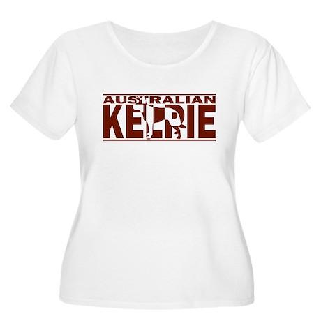 Hidden Australian Kelpie Women's Plus Size Scoop N