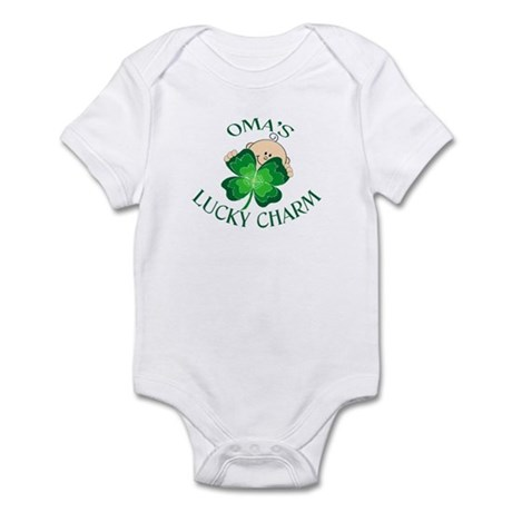 Oma's Lucky Charm Infant Bodysuit