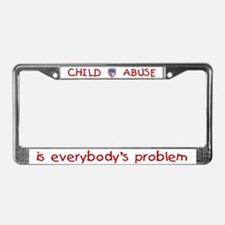 Everybody's Problem PROTECT License Plate Frame