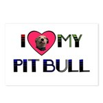 PIT BULL'S ROCK Postcards (Package of 8)