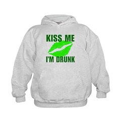 Kiss Me I'm Drunk Hoodie
