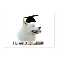 Samoyed Grad 09 Postcards (Package of 8)