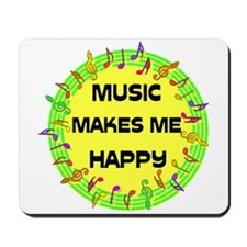 HAPPY MUSIC Mousepad