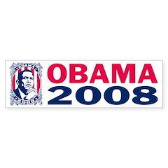 OBAMA 2008 - Bumper Bumper Sticker