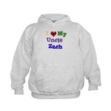 I LOVE MY UNCLE ZACH Hoodie