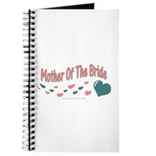Mother Of The Bride (hearts) Journal
