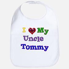 I LOVE MY UNCLE TOMMY Bib