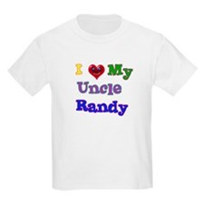 I LOVE MY UNCLE RANDY T-Shirt