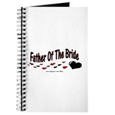 Father Of The Bride (hearts) Journal
