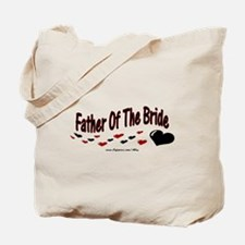 Father Of The Bride (hearts) Tote Bag