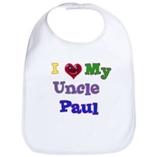 I LOVE MY UNCLE PAUL Bib