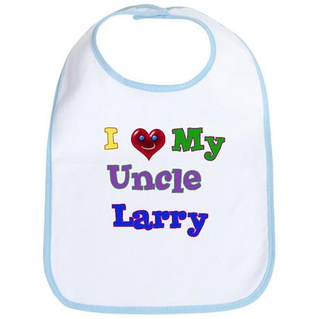 I LOVE MY UNCLE LARRY Bib