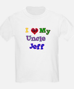 I LOVE MY UNCLE JEFF T-Shirt