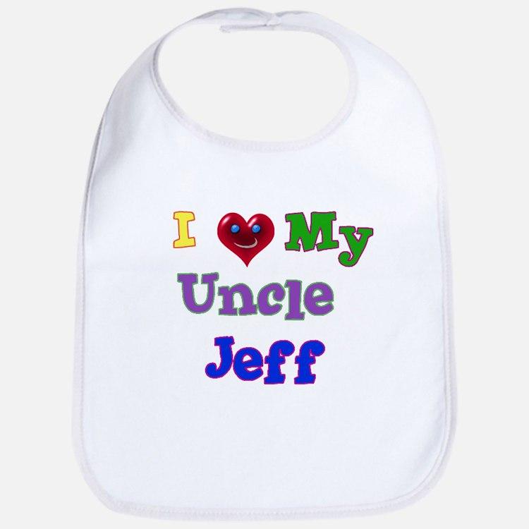 I LOVE MY UNCLE JEFF Bib